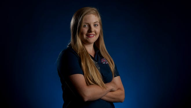 Montgomery Advertiser All-Metro Golfer of the Year Brooke Sansom, of Park Crossing, in Montgomery, Ala. on Friday June 16, 2017.