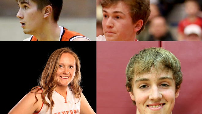 Athlete of the week nominees for the week of Dec. 25.