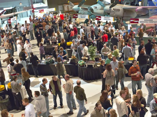 Thousands of people filled the EAA AirVenture Museum for the 11th annual Hops and Props in 2013. This year's event is Saturday, March 5.