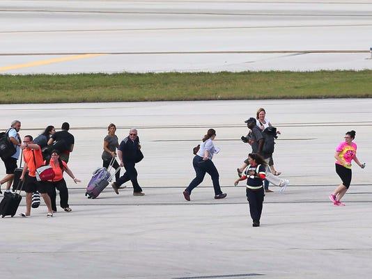 AP AIRPORT SHOOTING FLORIDA A USA FL