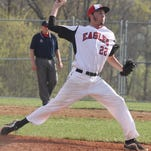 Milford's Kyle Ruehlman pitches against Walnut Hills April 17.