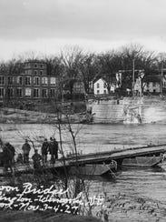November, 1927: Residents of Winooski and Burlington