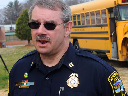Waynesboro Police Capt. Kelly Walker in this file photo from 2012.
