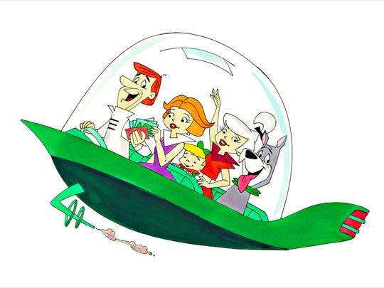 """""""The Jetsons,"""" by Ron Campbell."""