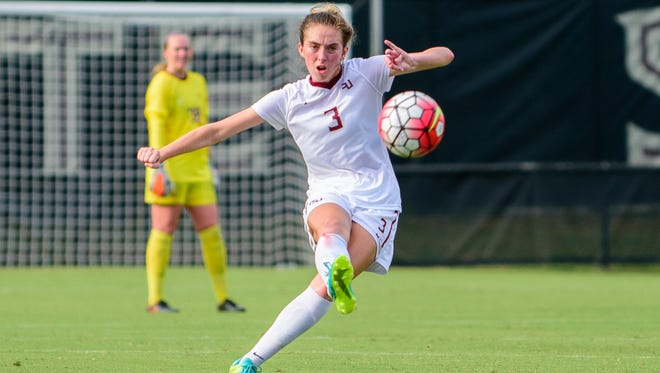 Megan Connolly has three goals and three assists this season for FSU.