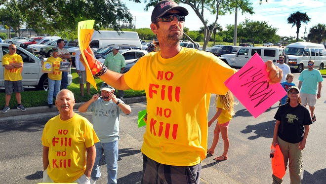 Fishing guide Alex Gorichky is planning a Brevard County Lagoon Rally in Titusville to make people aware of the issue of brown tide.
