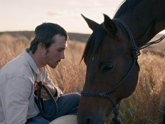 "Brady Jandreau as Brady Blackburn in ""The Rider."""