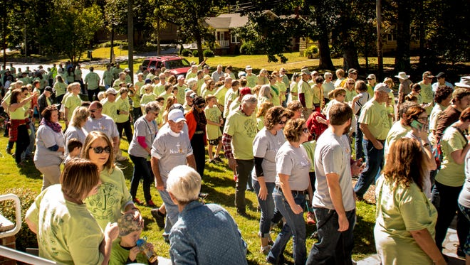 Every year, hundreds of  Valley residents and others walk to raise money to help Swannanoa Valley Christian Ministry help others.