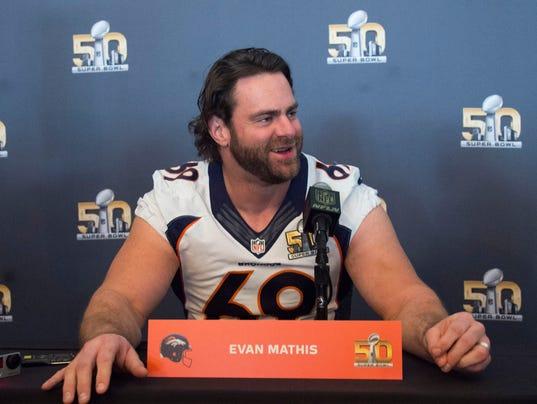 USP NFL: SUPER BOWL 50-DENVER BRONCOS PRESS CONFER S FBN USA CA