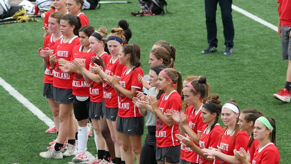 North Rockland defeated Kingston 17-3 in the girls