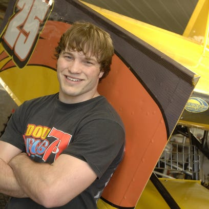Dylan Peterson is a young up-and-coming racecar driver from the Hartford area. (Emily Spartz/Argus Leader)