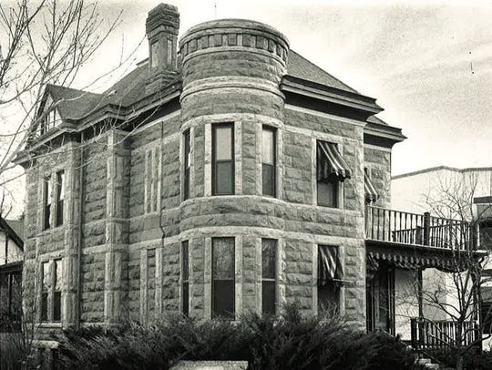 The McHugh-Andrews house at 202 Remington Street, now