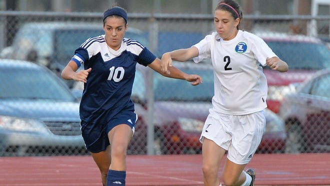 Siegel's Madison Louk (10) will play in the High School All-American Soccer Game on Saturday in Raleigh, N.C.