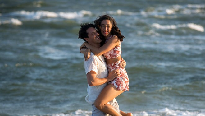 "Jack Huston and Oona Chaplin find love in ""The Longest Ride."""