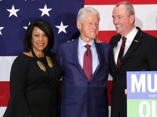 Bill Clinton campaigns for Phil Murphy