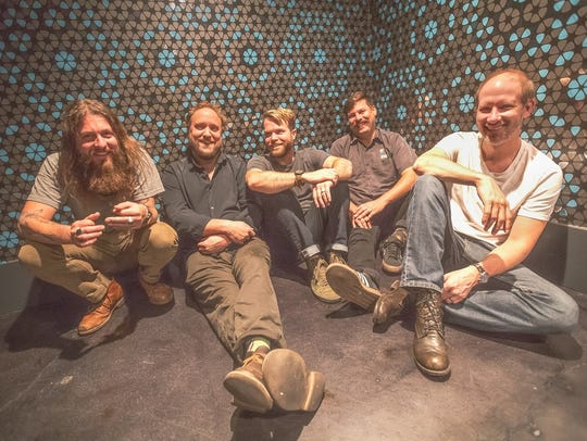 Greensky Bluegrass will perform June 10 at Garfield