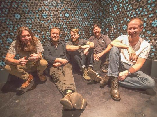 Greensky Bluegrass will perform June 10 at Garfield Park.