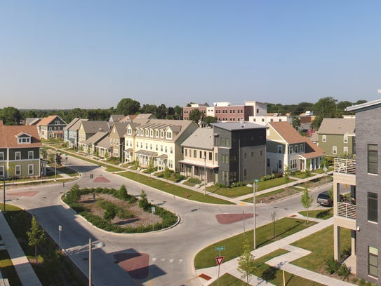 The redevelopment of Westlawn Gardens features mid-rise