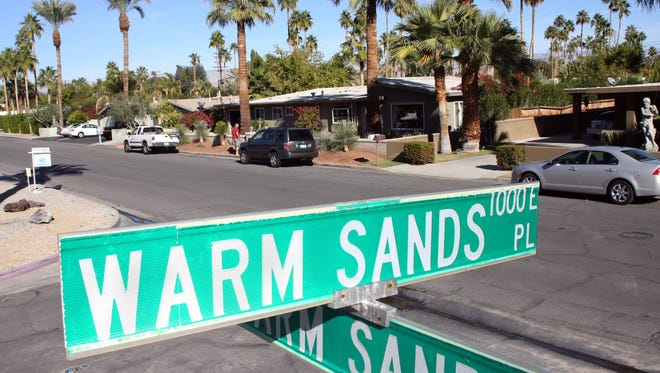 The Warm Sands neighborhood was the target of an undercover public sex sting by police in 2009.