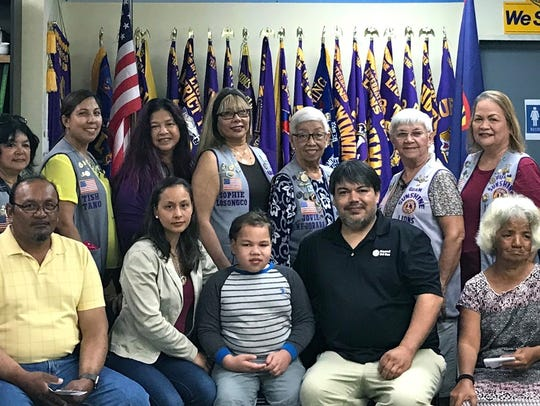 The Guam Sunshine Lions Club made financial donations