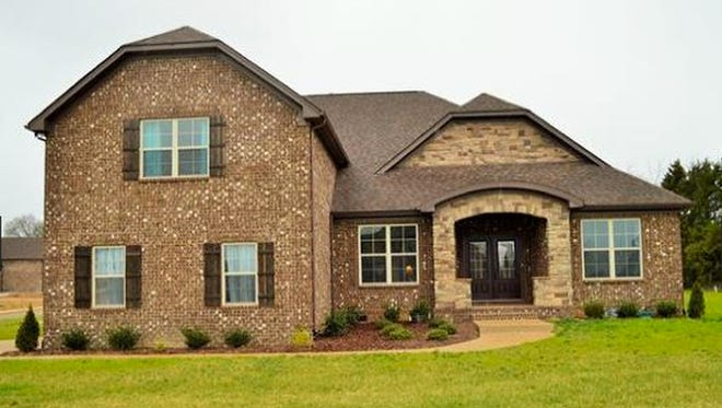 This house, at 128 Springfield Drive in Lebanon, was built in 2015 and has 3,470 square feet.
