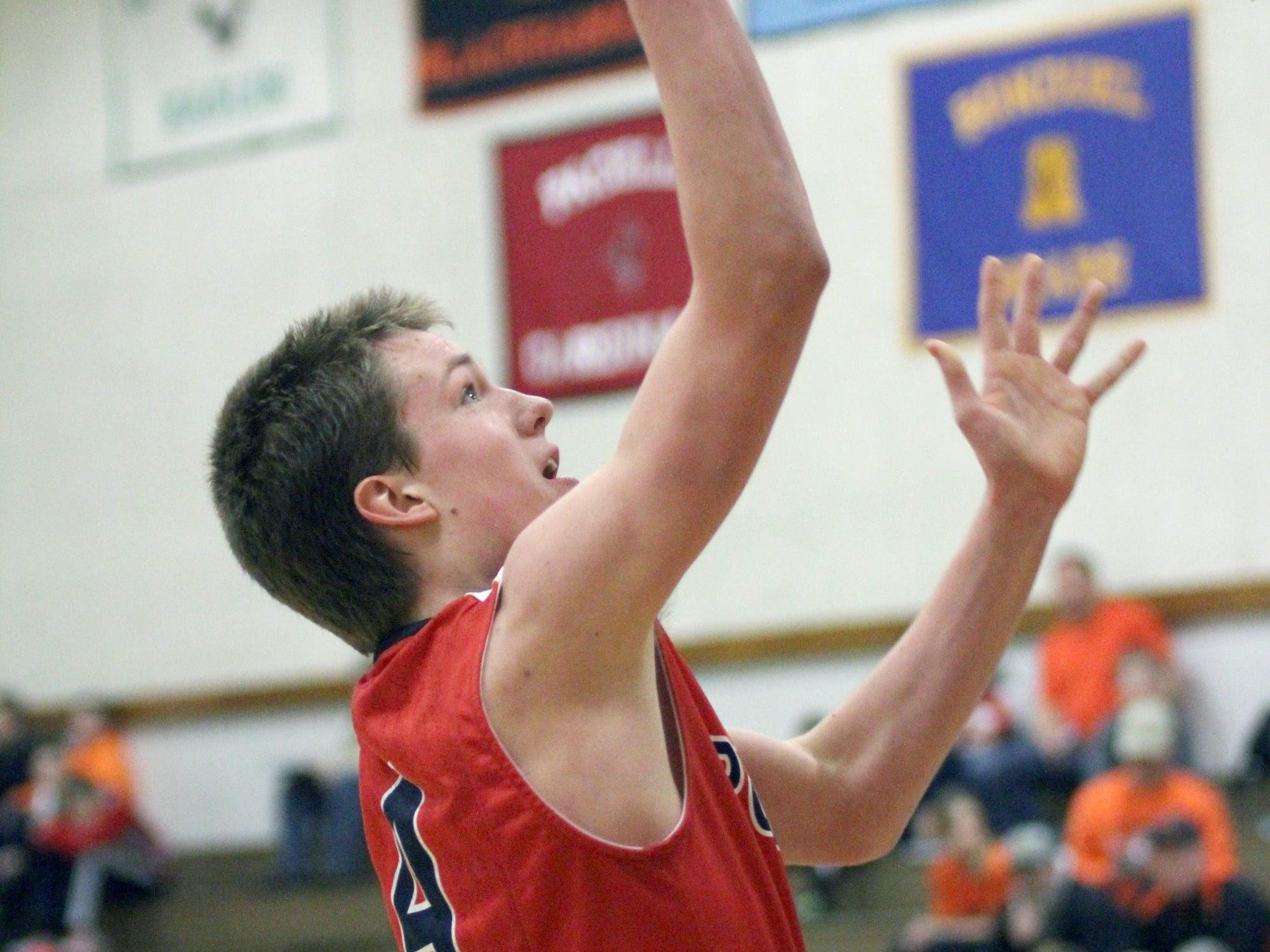 Pacelli's James Gollon has recently returned to the rotation for the Cardinals basketball team after undergoing hip surgery last fall.