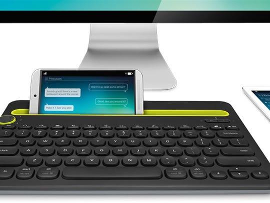 Logitech's K480 multi-device keyboard