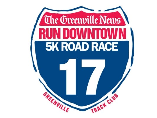 Sign up today for the 38th annual Greenville News Run Downtown!