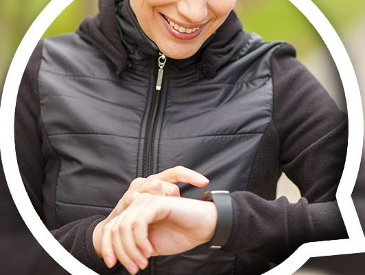 A 'bit' of fitness goes a long way. Enter to win a Fitbit Activity Tracker from 2/1-2/28.