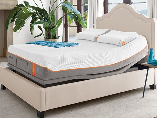 Insiders receive $300 in gifts with the purchase of a Tempur-Pedic adjustable mattress set.