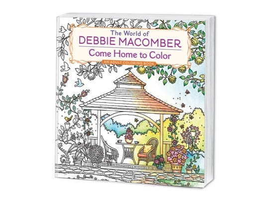 Enjoy a free coloring page from Debbie Macomber's official adult coloring book.