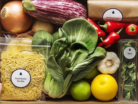 Get over 50% Off Blue Apron meal plans.