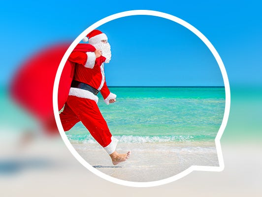 Santa's coming to town, and we're keeping him busy delivering deals, discounts, sweepstakes and more!