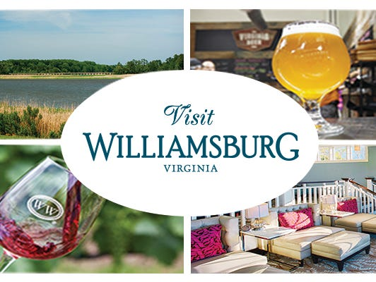 Stay at the Kingsmill Resort and experience the Williamsburg Tasting Trail in Greater Williamsburg, VA.