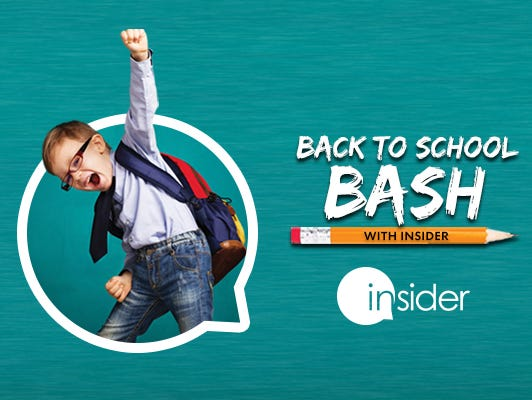 Visit throughout August for back-to-school deals, discounts and extras!