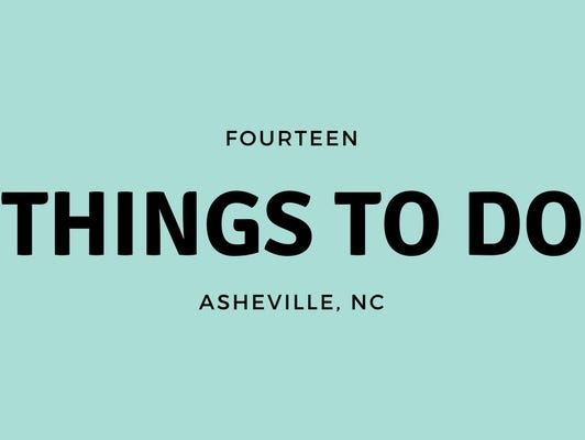 See what you can do in Asheville this August!