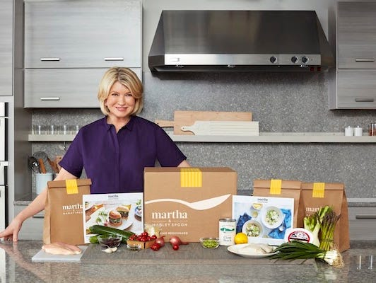 Get pre-portioned ingredients and Martha Stewart's best recipes delivered directly to your door.