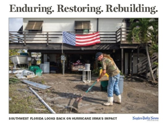 Get the hardcover book that captures Irma's impact on Southwest Florida and our community's indomitable spirit to overcome.