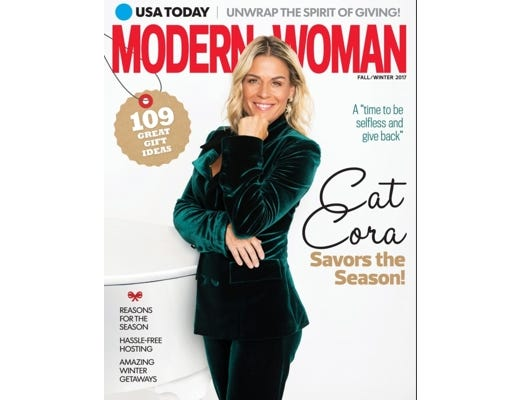 Read up on all things style, food and health in USA TODAY's Modern Woman magazine.