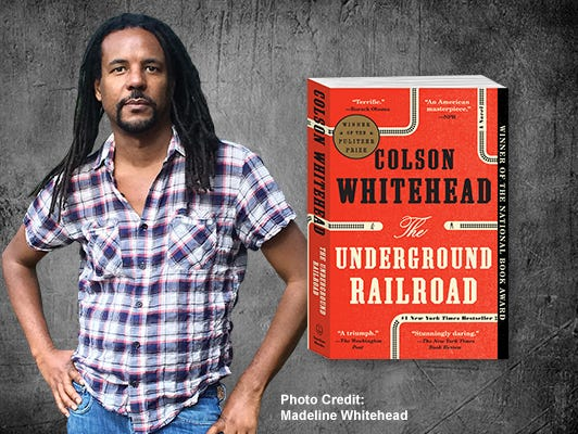 "Get to know the author of ""The Underground Railroad,"" in this live chat on Wednesday, Jan. 17, 1pm ET."