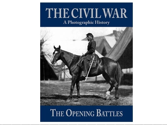 "Take a walk through history with ""The Civil War: A Photographic History."""