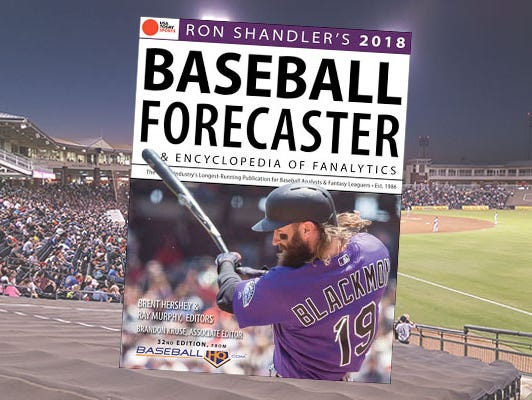 Dominate your fantasy baseball league with Ron Shandler's 2018 Baseball Forecaster.