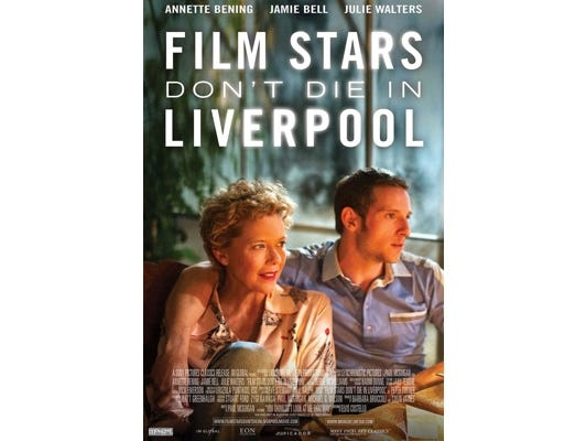 "Join the Asheville Movie Guys for a movie screening of ""Film Stars Don't Die In Liverpool"" at the Fine Arts Theatre, February 26 at 7:00 pm."