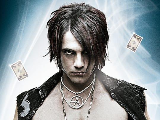 Criss Angel performs at Inn of the Mountain Gods on Saturday, Feb. 15. Doors open at 7 p.m. with the performance starting at 8 p.m.