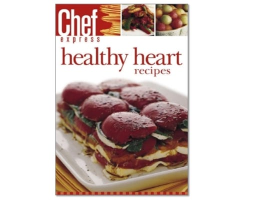 Download your free Healthy Heart eCookbook for plenty of healthy recipes!