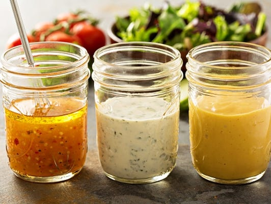 Love salad and making your own dressing - these homemade dressing recipes are for you!