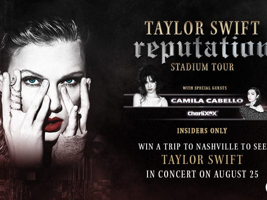 Thank you for participating. Check out the reputation Stadium Tour dates to see if a concert is coming near you!
