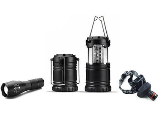The Ultimate LED Bundle - get three tactical lights for the price of one.