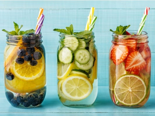 Summer Sippin - Download free cocktail recipes infused with herbs.