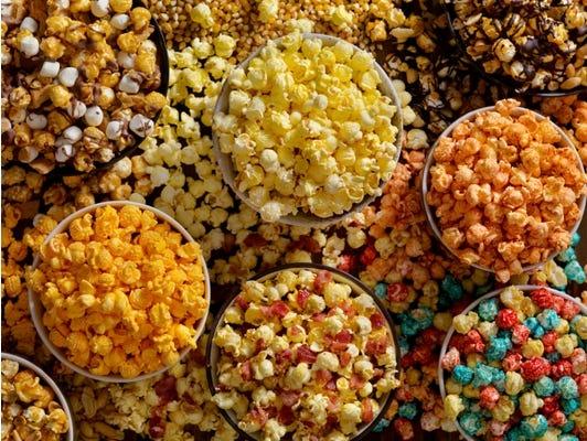 Popcorn, a delicious treat - Download free popcorn recipes.